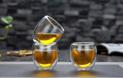 僅優惠有品味的您 80ml 蛋形雙層玻璃杯 保溫隔熱 水杯 咖啡杯 茶杯 高硼矽玻璃《桀米咖啡》