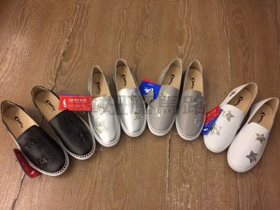 韓妞壓馬路~ollie真皮星星懶人鞋~樂福鞋~便鞋~現貨➕預購~$1180
