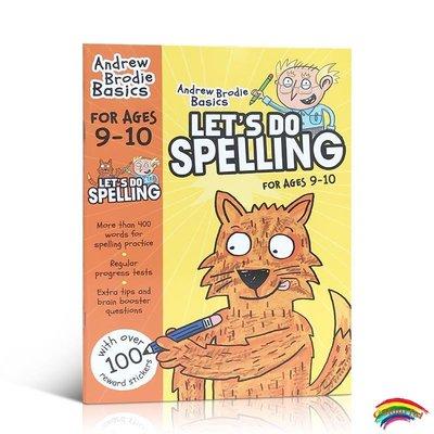 英文原版 Let's do Spelling 9-10歲英國小學英語練習冊 閱讀語法拼寫外語學校課外輔導用書 英國國家教學大綱 全彩印刷