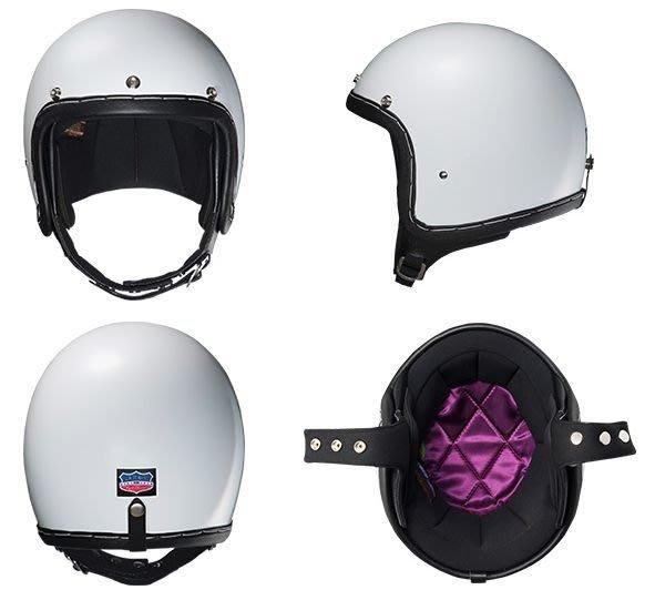 (I LOVE樂多)日本立花SHM60s復古真皮手縫安全帽(釘扣帽帶)SG規格合格品全排気量対応可S/O商品