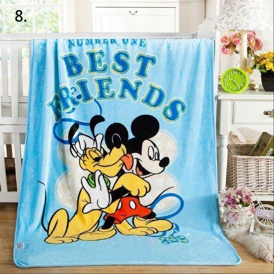 15款卡通法萊絨童毯升級珊瑚絨毛毯空調毯午睡毯兒童卡通毯子