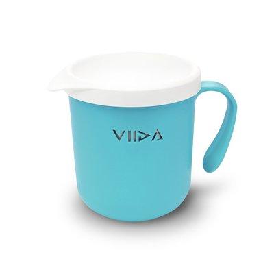 【現貨】QB選物 ❤ VIIDA ❤ Soufflé  抗菌不鏽鋼杯-寶貝藍