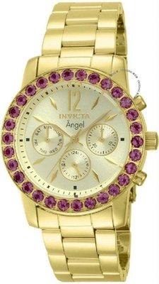 展示品 Invicta 14163 Angel Limited Edition Day Date Gemstone Accented Womens W