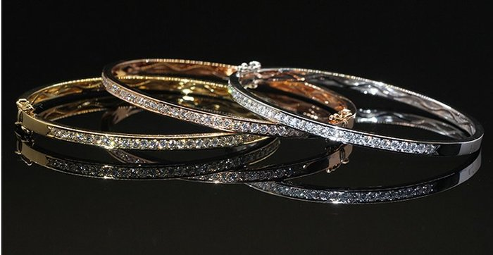 【黛恩&聖蘿蘭珠寶】點開看更多款式 北歐設計師款夾鑲鑽石手鐲 婚戒對戒鑽戒線戒項鍊耳環手鐲別針腳鏈戒指翡翠綠寶紅寶藍寶