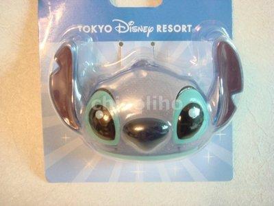 日本進口~迪士尼會發光史迪奇 胸針/吊飾
