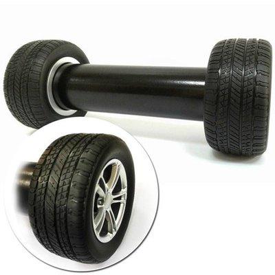 金德恩 逼真汽車輪胎啞鈴 (2200克一入裝)