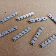 全新 Lego 散件 淺灰色 Plate 1X6 薄磚 8pcs