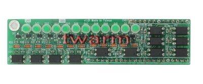 r)ModIO-12DI(12-ch Isolated DI Module)Modbus&DDC 可共用IO模組