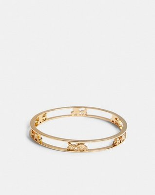coach Horse And Carriage Bangle