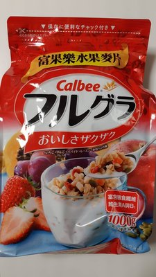 【麻煩天使】卡樂比 富果樂CALBEE水果麥片 / 可可香蕉早餐麥片  二種口味
