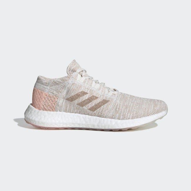 南◇2019 11月 ADIDAS PureBOOST GO 愛迪達 緩震 慢跑鞋 透氣 粉紅色白 乾燥粉 G54519