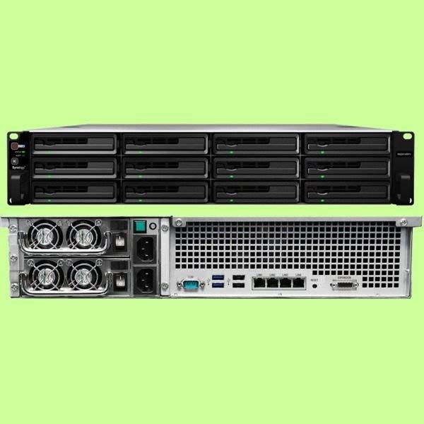 5Cgo【權宇】群暉 Synology RS2414+/RS2414RP+網路儲存伺服器 Atom/2GB/12B 含稅