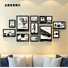 英文歐美名言警句海報掛畫 黑白裝飾畫辦公室書房壁畫組合相框牆(3組可選)