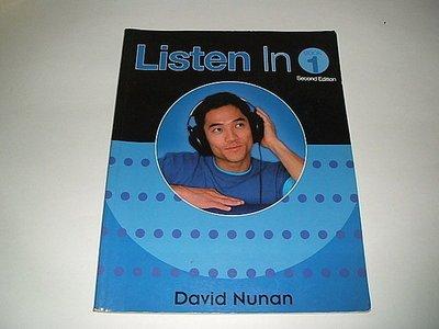 古集二手書 ~Listen In Book 1 David Nunan 0838404081