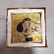 Klimt Kiss Box 首飾盒 購自歐洲 克里姆特 吻 Purchased from Europe
