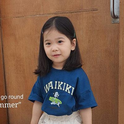 3~13 ♥上衣(BLUE) MERRY GO ROUND-2 21夏季 MGR210519-022『韓爸有衣韓國童裝』~預購