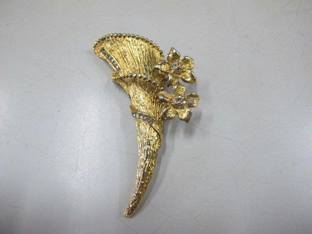 二手舖 NO.2912 造型胸針 水鑽別針 首飾飾品