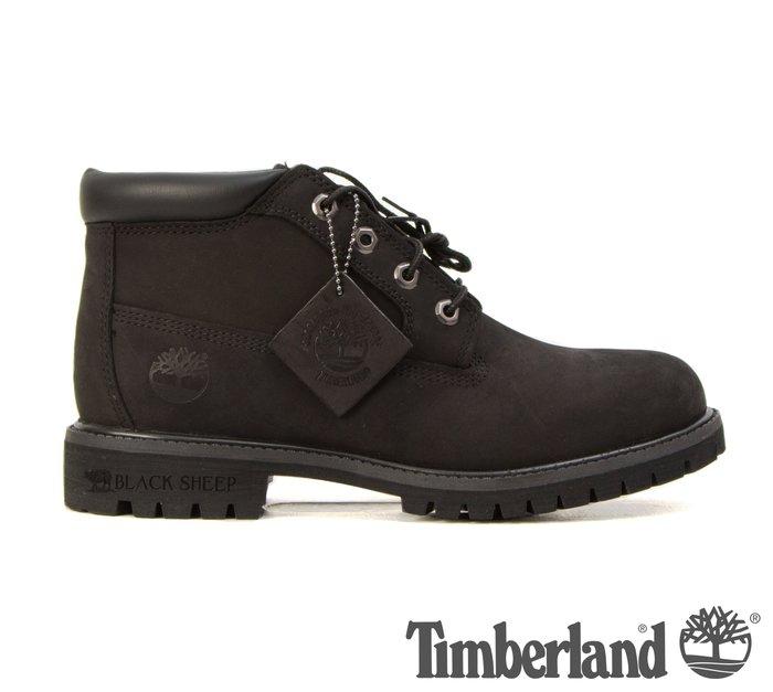 黑羊選物 Timberland 男款 32085 男靴 全黑短靴 踢不爛 防潑水 抗疲勞鞋底 耐磨大底 麂皮鞋面