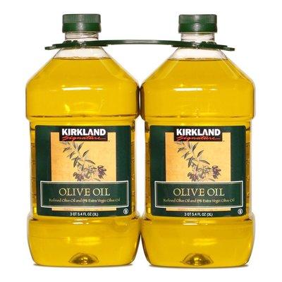 Kirkland Signature 科克蘭 純橄欖油 3公升 X 4入/組