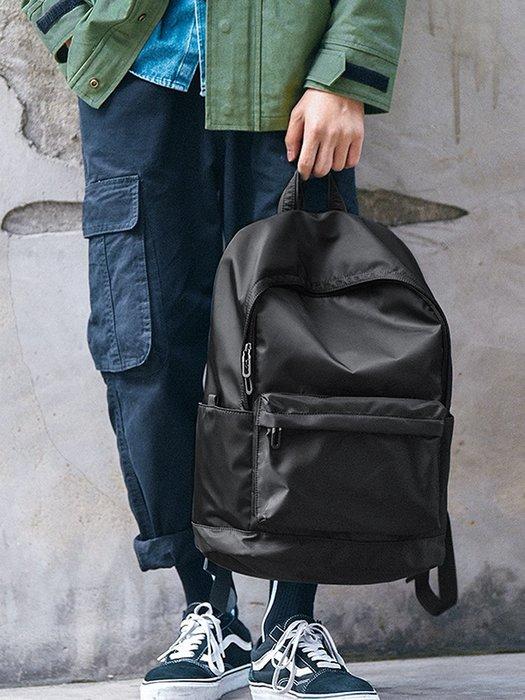 創意 旅行必備 男士雙肩包簡約時尚潮流休閑大學生書包電腦韓潮牌大容量旅行背包
