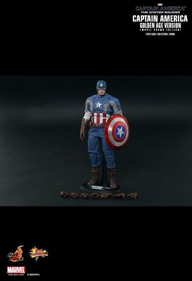 HOTTOYS HOT TOYS Golden Age Version 美國隊長 寒冬戰士 Captain America The Winter Soldier