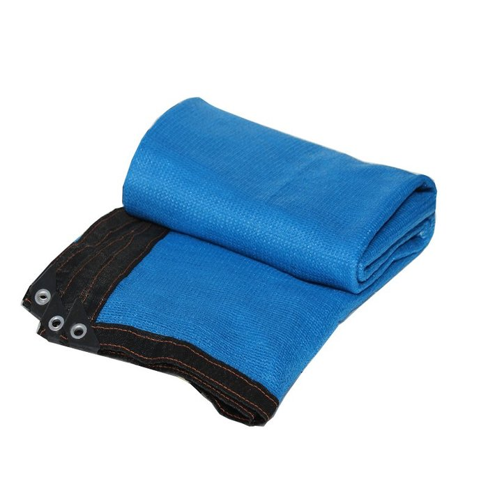 888利是鋪-藍色遮陽網防曬網 8針包邊加密隔熱陽臺防曬網園藝用品庭院綠植#防曬網