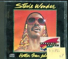 *真音樂* STEVIE WONDER / HOTTER THAN JULY 二手 K31860