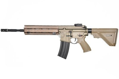 台南 武星級 BELL M4 416A5 電動槍 沙 ( BB槍BB彈M16 MP5狙擊槍UZI衝鋒槍M4卡賓槍AR步槍