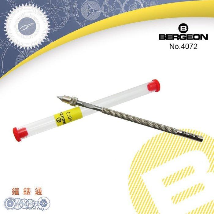 【鐘錶通】B4072《瑞士BERGEON》 游絲固定針筆├機械機芯維修/手錶維修工具/鐘錶工具┤