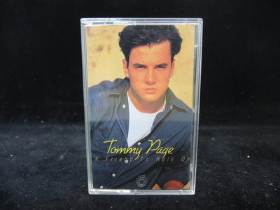 ◎MWM◎【二手錄音帶/卡帶】Tommy Page- A Friend To Rely On 有歌詞 無黴點 保存良好