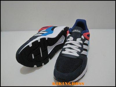 【喬治城】 ADIDAS CHAOS 男款運動鞋 (深藍/彩) EF1047