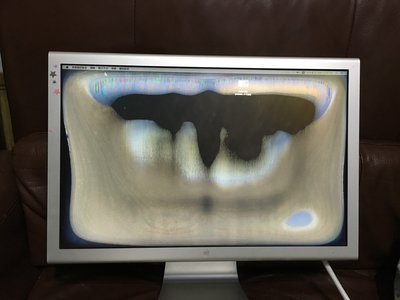 Apple 蘋果 cinema A1081 A1802 A1083 螢幕維修 破裂 內/外膜老化 變質 更換1800元起