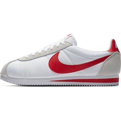 NIKE CLASSIC CORTEZ NYLON 白紅 尼龍 麂皮 阿甘復古 慢跑鞋 男女鞋 807472-101