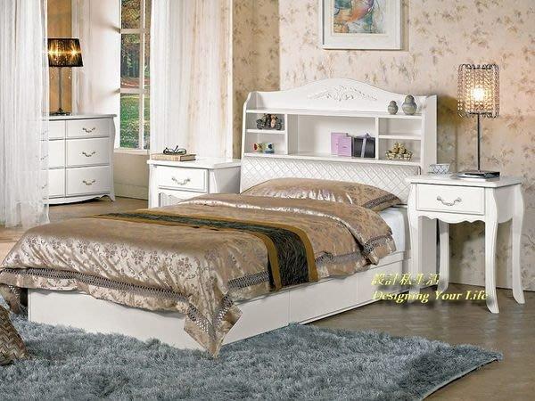 【設計私生活】仙朵拉3.5尺被櫥式單人床架、床台(不含床墊)(全館一律免運費)D系列200 P