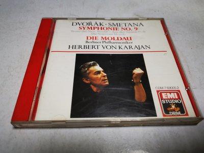 昀嫣音樂(CD3) DVORAK SMETANA SYMPHONIE NO.9片況如圖 售出不退 可正常播放