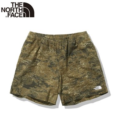 THE NORTH FACE Novelty Versatile Shorts NB42052 雲迷彩短褲 。太陽選物社