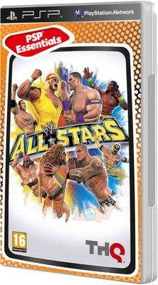 全新未拆 PSP WWE All-Stars 激爆職業摔角 全明星大賽 -英文版-