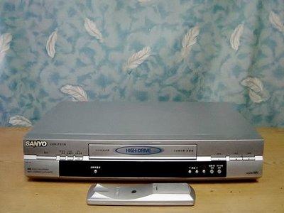 .【小劉二手家電】內部九成新少用的 SANYO  VHS錄放影機,VHR-F91N型,附可代用遙控器