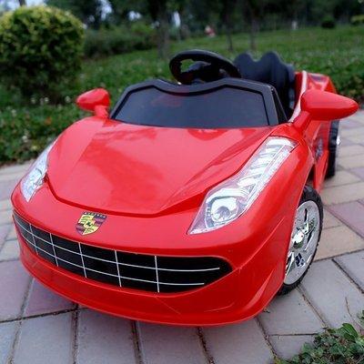 【優上精品】兒童電動帶遙控四輪汽車寶雙驅電瓶玩具車小孩男女嬰可坐人保時捷(Z-P3187)