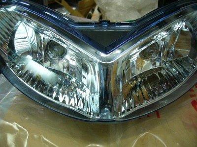 SYM 原廠 新悍將 F1 F1 125 新版 水藍大燈組 大燈總成 含燈泡 含配線