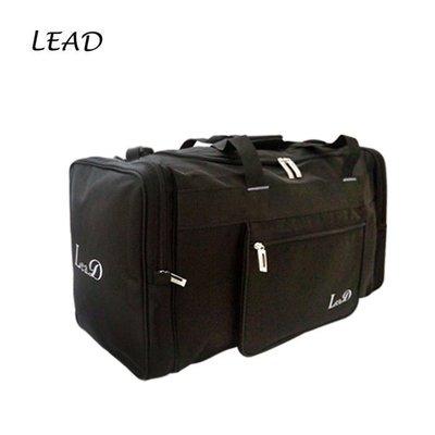 加賀皮件 LEAD 防潑水 可插拉桿 手提/肩背/斜背 收納袋 旅行袋 8822