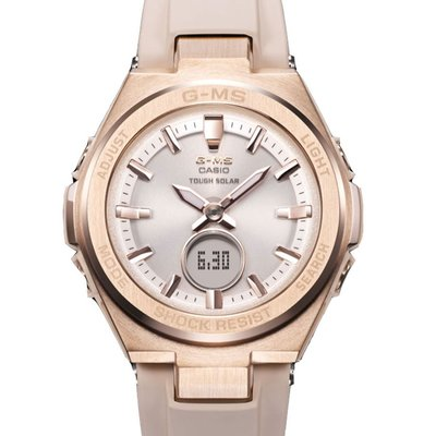 門市正貨 - 全新 Casio watch BABY G G-MS MSG-S200 MSG-S200G MSG-S200G-4A 太陽能 手錶