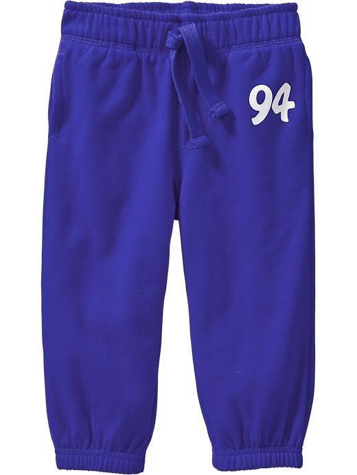 【Nichole's歐美進口優質童裝】Old Navy 男童藍色鬆緊帶抽繩束口運動長褲*Carter's/OshKosh