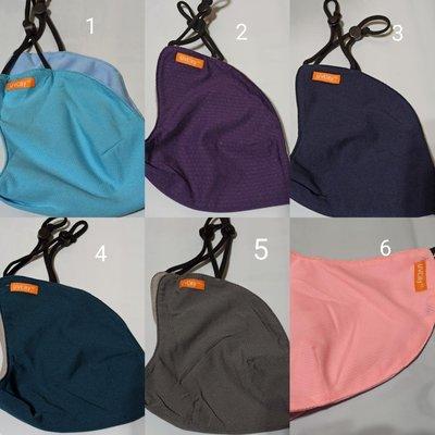 口罩 一個 專櫃品牌 抗uv 防曬 UPF50+ 防風 好清洗 大尺寸 可調整 可配戴於拋棄式口罩外層  原價250
