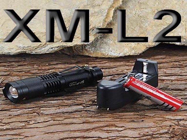 CREE XML-L2 LED 伸縮變焦 掌上 5檔 UltraFire 神火 T6 T8 L2 車燈