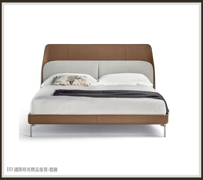 DD 國際時尚精品傢俱-燈飾 Poltrona Frau Coupé Bed (復刻版)現品特價  全牛皮床檯/床架