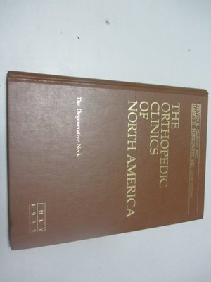 欣欣小棧   原文書*ORTHOPEDIC CLINICS OF NORTH AMERICA 1992  july(A2