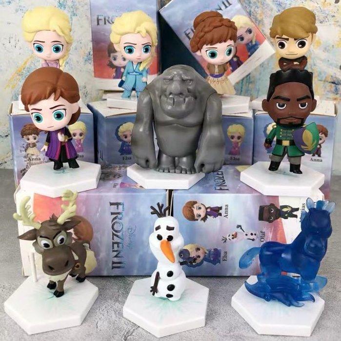 《瘋狂大賣客》Disney 迪士尼 冰雪奇緣 艾莎 Elsa 安娜 Anna 阿克 雪寶 漢斯 盲盒 公仔 動漫 盒玩 卡通 擺件 蛋糕 音樂 奇幻 喜劇