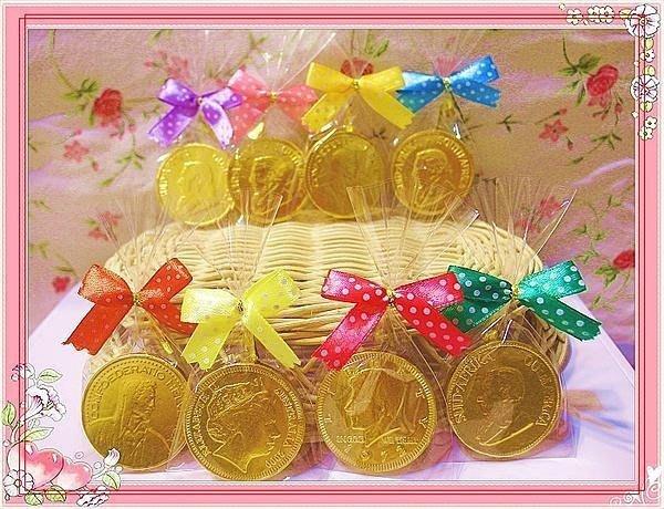 新鮮到貨~3.5cm金幣巧克力~囍糖 ~過新年 ~結婚禮小物~聖誕節~情人節~派對送客~畢