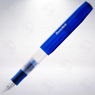 德國 Kaweco ICE Sport 鋼筆: 透明藍/Translucent Blue